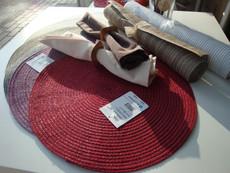 Pichler Tischsets Samba mit Glanzgarn 38cm | rund