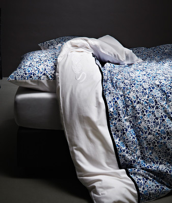 Marcel Wanders by Essenza Bettwäsche Baumwoll-Satin Amsterdam Blues