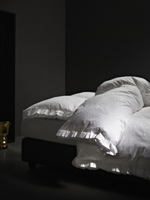 Marcel Wanders by Essenza Bettwäsche Ruffled Jacquard White