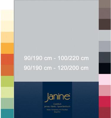 Janine Spannbetttuch Comfort Elastic 100x200 cm