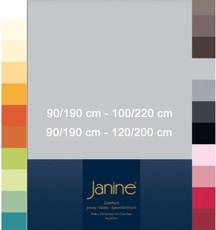 Janine Spannbetttuch Comfort Elastic 100 x 200 cm für Matratzenhöhe bis zu 32 cm