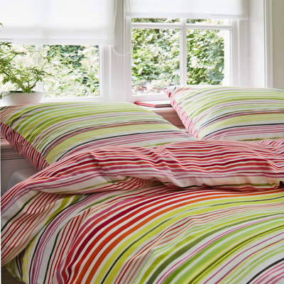 Vanezza Home Baumwoll-Satin Bettwäsche Liddy Pink