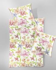 Irisette  Baumwoll-Satin Bettwäsche Capri-K 8745-90 rosa