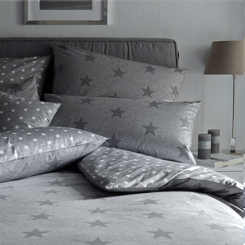 elegante mako perkal bettw sche sky basalt 2117 9. Black Bedroom Furniture Sets. Home Design Ideas