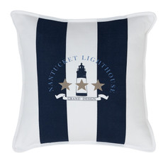 Grand Design Kissen NANTUCKET LIGHTHOUSE, Navy 48 x 48 cm
