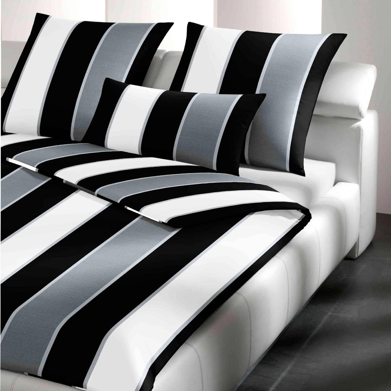 joop bettw sche lines 4055 0 schwarz wei. Black Bedroom Furniture Sets. Home Design Ideas