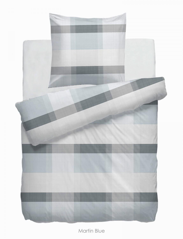 hnl velvet touch bettw sche marin blue aus baumwolle. Black Bedroom Furniture Sets. Home Design Ideas