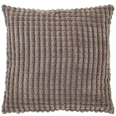 Dutch Decor Kissenbezug Rome taupe 45x45 cm