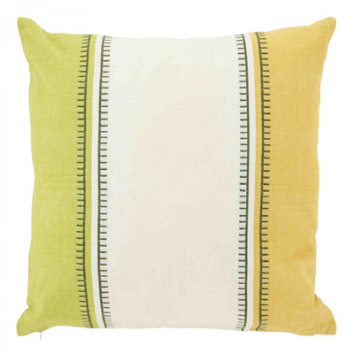 dutch decor Kissenbezug Demetro lime 45x45 cm