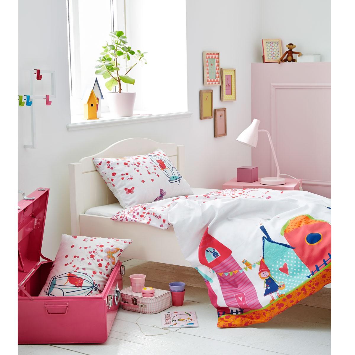 S Oliver Kinderbettwasche Schloss 4352 500 Pink