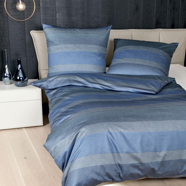 janine mako satin bettw sche messina 4779 02 blau aqua silber. Black Bedroom Furniture Sets. Home Design Ideas