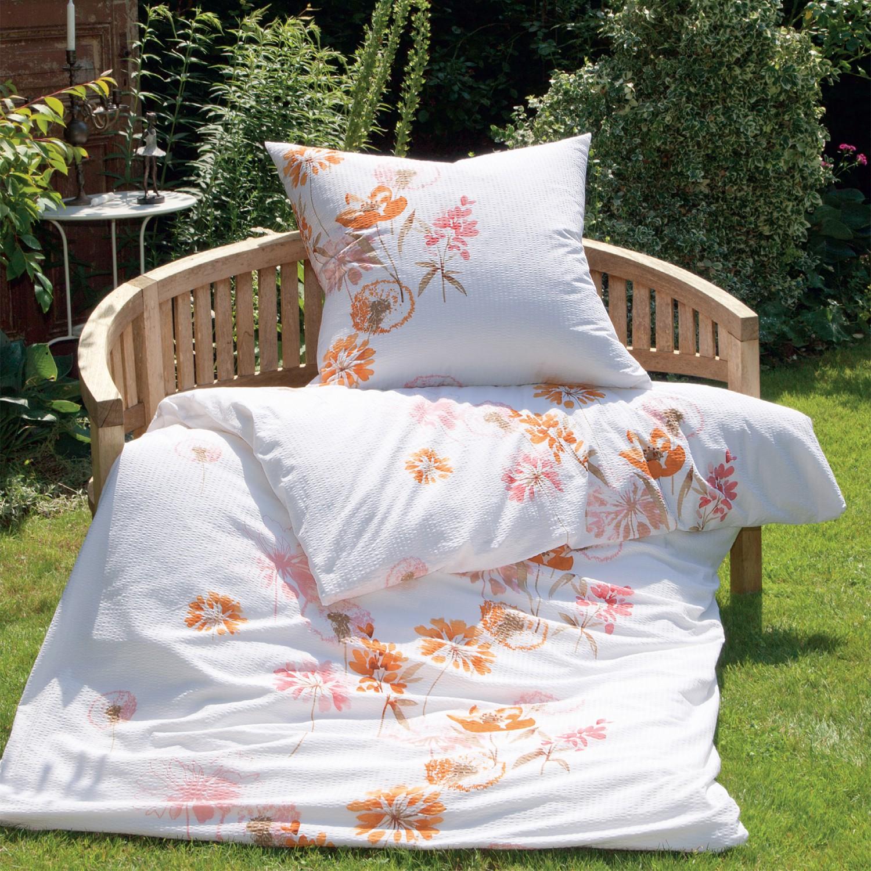 janine mako soft seersucker bettw sche tango 2443 01 rose. Black Bedroom Furniture Sets. Home Design Ideas