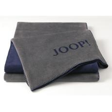 JOOP! Uni-Doubleface Wohndecke Schiefer-Marino 150 cm x 200 cm