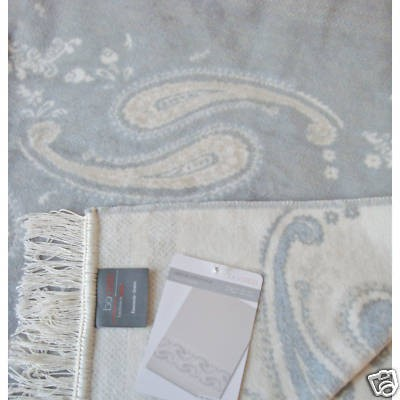 Wohndecke  BORBO Visiona Cotton Plus PAISLEY 150x200cm