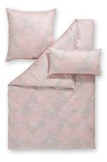 Estella Bettwäsche GRETA 3-tlg. Satin rosa  7005-470 Ornamente exklusiv