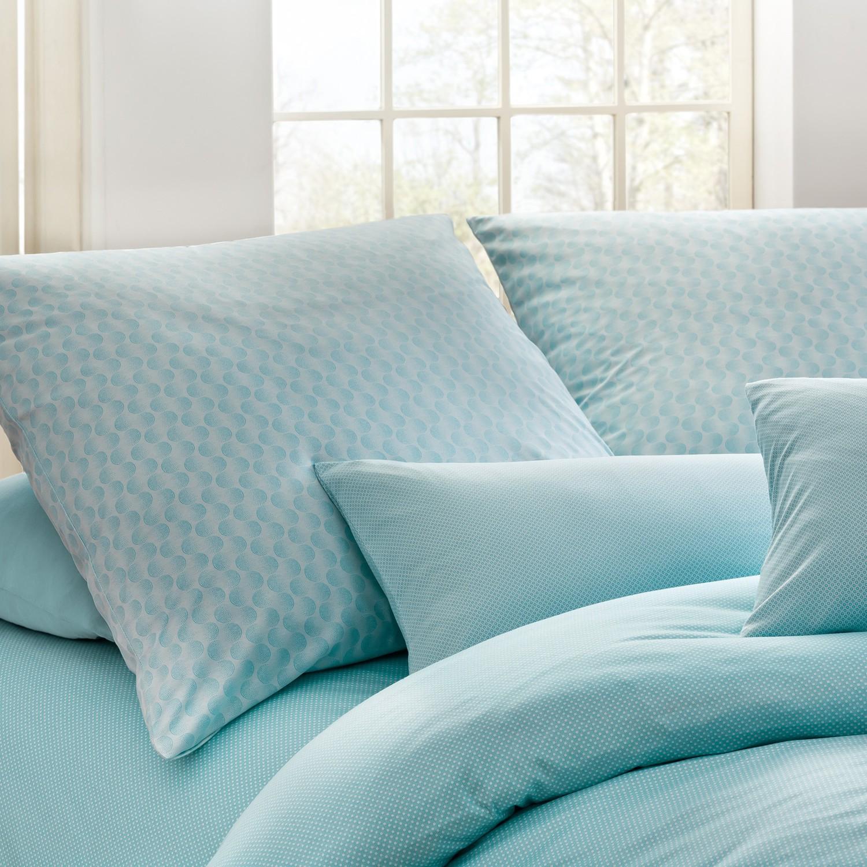 estella bettw sche mako interlock jersey dilan aqua. Black Bedroom Furniture Sets. Home Design Ideas