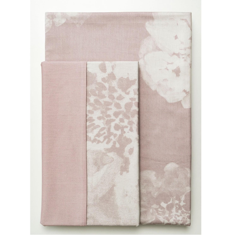 sch ner wohnen bettw sche flora nude rosa. Black Bedroom Furniture Sets. Home Design Ideas