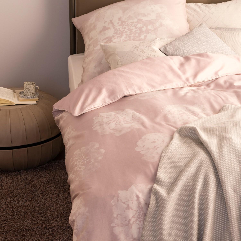 Schöner Wohnen Bettwäsche Flora Nude Rosa