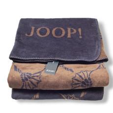 JOOP! Wohndecke New Cornflowers Night-Falke Baumwollmischung