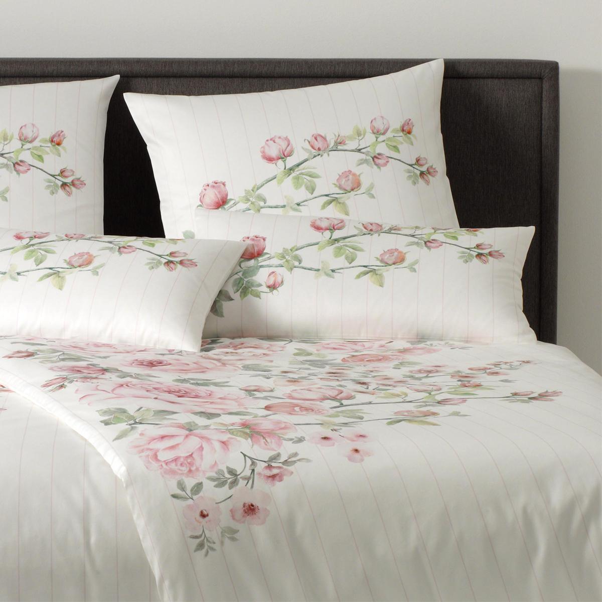 elegante mako satin bettw sche princess rose 2186 1 rosa. Black Bedroom Furniture Sets. Home Design Ideas