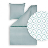 Estella Mako-Interlock-Jersey- Bettwäsche Tarun 6795 aqua