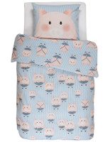 Covers & Co Wende-Bettwäsche Piggy Blue