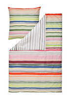 Estella Mako-Satin Wendebettwäsche Fun Stripes multicolor