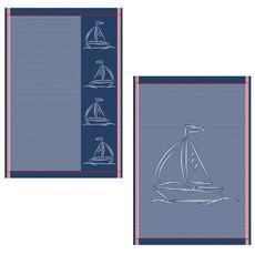 Ross 2-er Geschirrtücher Set 1807 aus 100% Baumwolle 50 x 70 cm