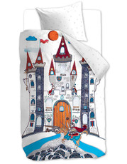 Beddinghouse Kinderbettwäsche KIDS Dragon Castle 135 x 200 cm