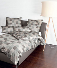 Janine Mako-Satin Bettwäsche 43030-07 Messina taupe