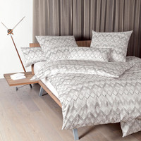 Attractive Janine Mako Satin Bettwäsche Messina 43032 07 Taupe Rosenholz Amazing Pictures