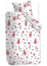 Beddinghouse Kinderbettwäsche KIDS Birthday Fairy Pink 135x200 | 135 x 200 cm | 100% Baumwolle