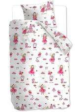 Beddinghouse Kinderbettwäsche KIDS Birthday Fairy Pink 135x200   135 x 200 cm   100% Baumwolle