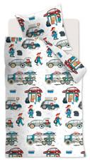 Beddinghouse Kinderbettwäsche KIDS Car Tools Multi | 100 x 135 cm | 100% Baumwolle