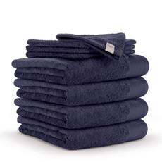 WALRA Frottierserie Soft Cotton navy-blau 100% Baumwolle uni klassisch