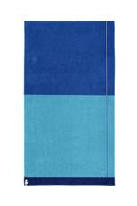 Seahorse Block – Strandlaken – 100 x 180 cm – blau  100% Baumwolle