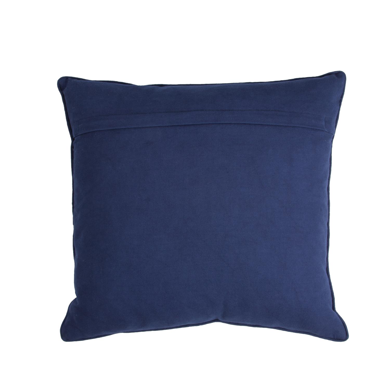 walra zierkissen blue birds 45 x 45 cm blau weiss. Black Bedroom Furniture Sets. Home Design Ideas