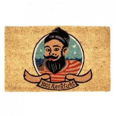 pad Korkfaser Fußmatte Sailor Nordlicht  45x75 cm 100% für maritimes Zuhause