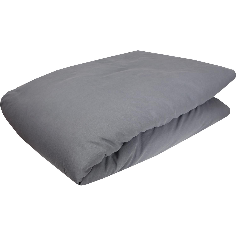 sch ner wohnen bettw sche pina grau washed cotton. Black Bedroom Furniture Sets. Home Design Ideas