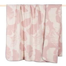 PAD Decke Wohndecke GINKO dusty pink 150 x 200 cm Baumwollmischung