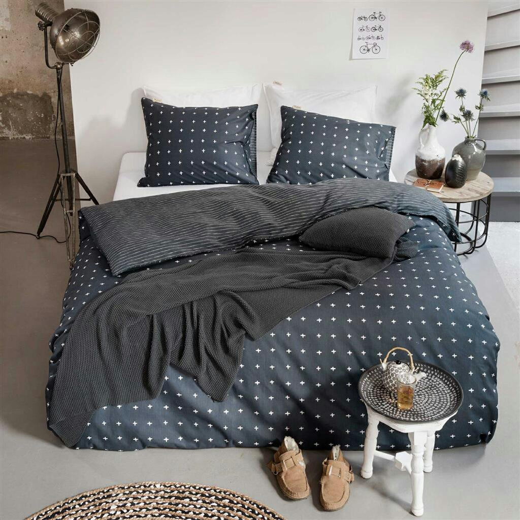walra renforc bettw sche odd twins anthrazit. Black Bedroom Furniture Sets. Home Design Ideas