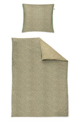 Irisette Mako-Satin Bettwäsche Carat-K Paisley leaf 8887-30 aus 100% Baumwolle