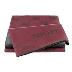 JOOP! Wohndecke New Cornflowers Rouge-Schiefer Baumwollmischung 150 x 200 cm