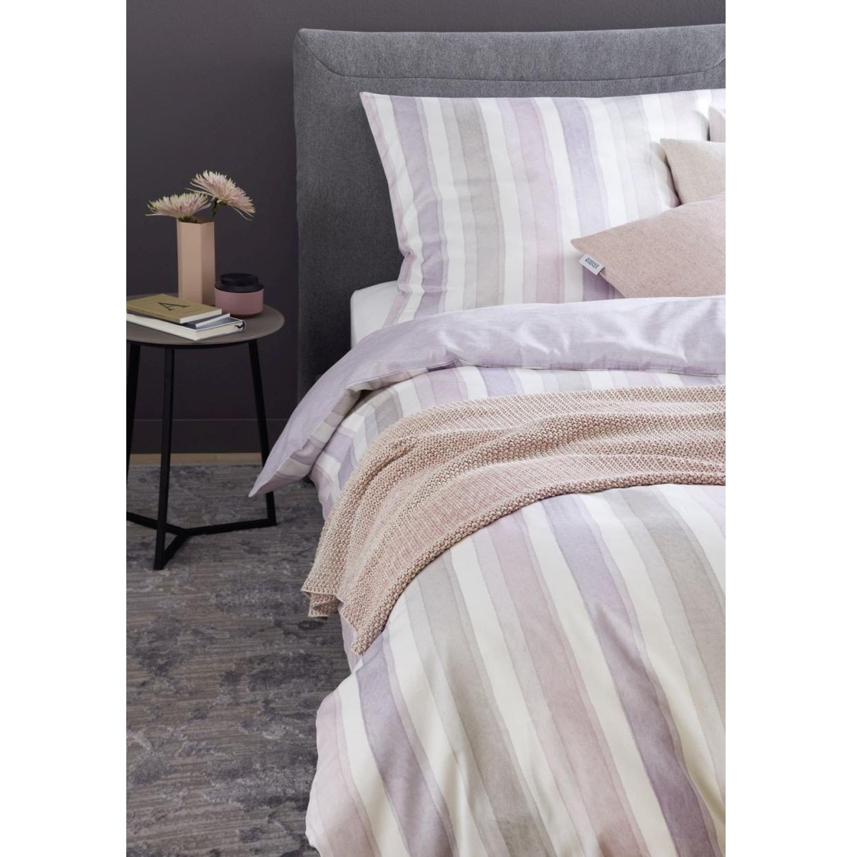 sch ner wohnen mako satin bettw sche millie rosa beige. Black Bedroom Furniture Sets. Home Design Ideas