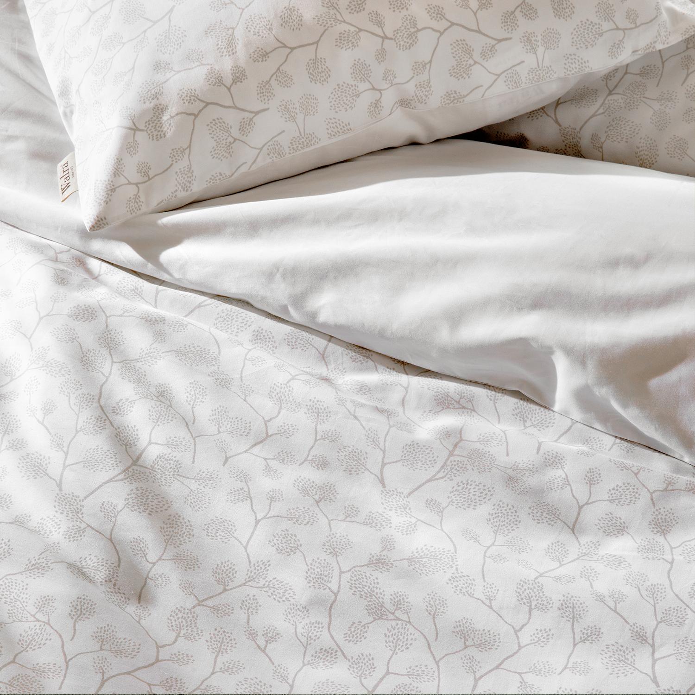 walra baumwollsatin bettw sche white beauty weiss. Black Bedroom Furniture Sets. Home Design Ideas
