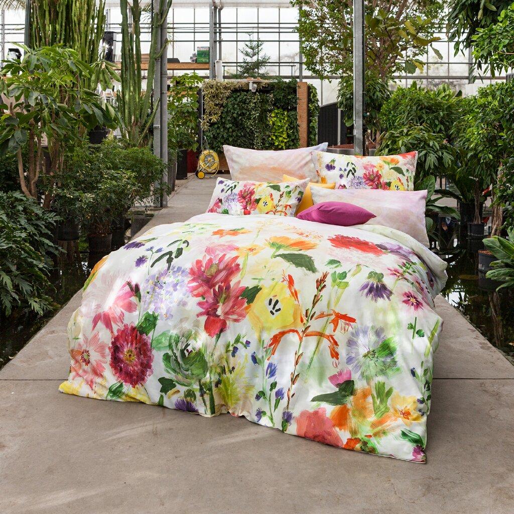 estella mako satin bettw sche garden 4729 985 multicolor. Black Bedroom Furniture Sets. Home Design Ideas