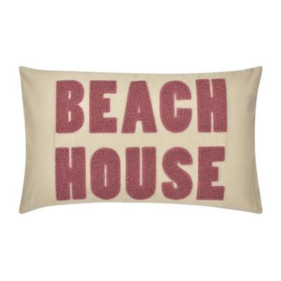 Pad Kissenhülle Beach House Kissenhülle 30 x 50 cm natural aus Materialmix