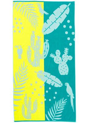 KAAT Amsterdam Strandtuch Lemon Drop Beach Towel Multi 100 x 180 cm