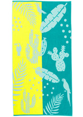 KAAT Amsterdam Strandtuch Lemon Drop Beach Towel Multi 100 x 180 cm