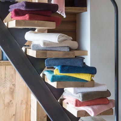 Winkler Frottier Gästetuch, Handtuch oder Duschtuch Bora 100% Baumwolle